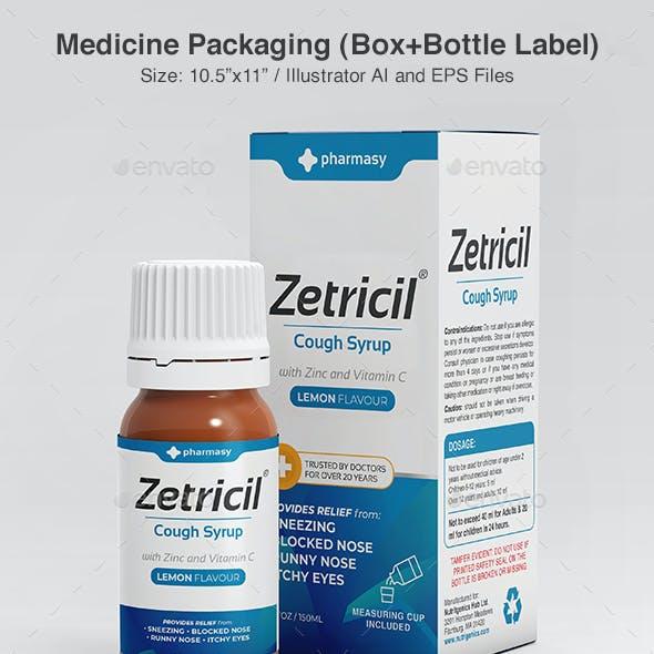 Medicine Packaging Template
