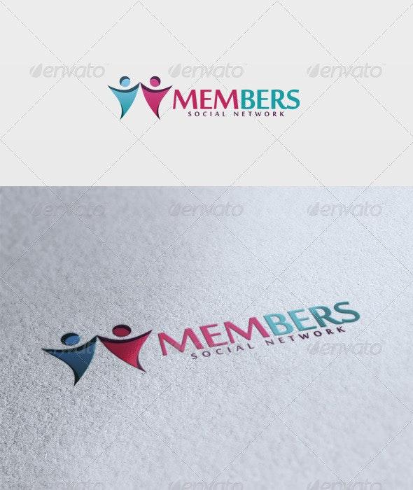 Members Logo - Vector Abstract