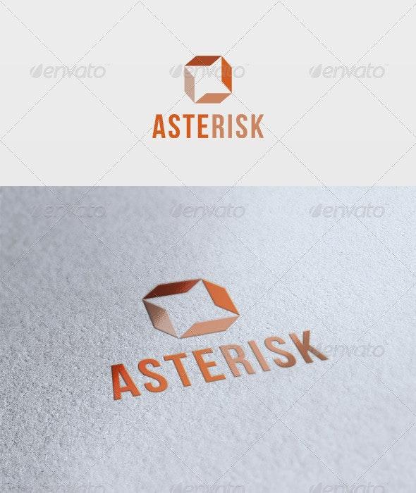 Asterisk Logo - Vector Abstract