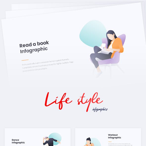 Life Style Infographic PPTX