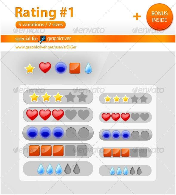 Rating #1 - Web Elements
