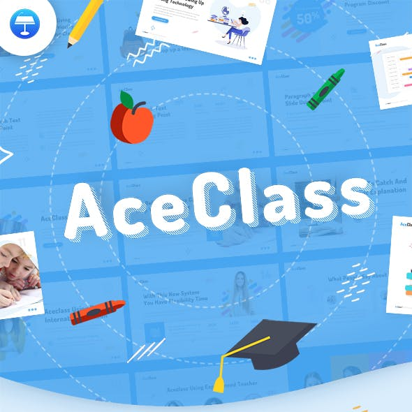 AceClass Education Keynote Template