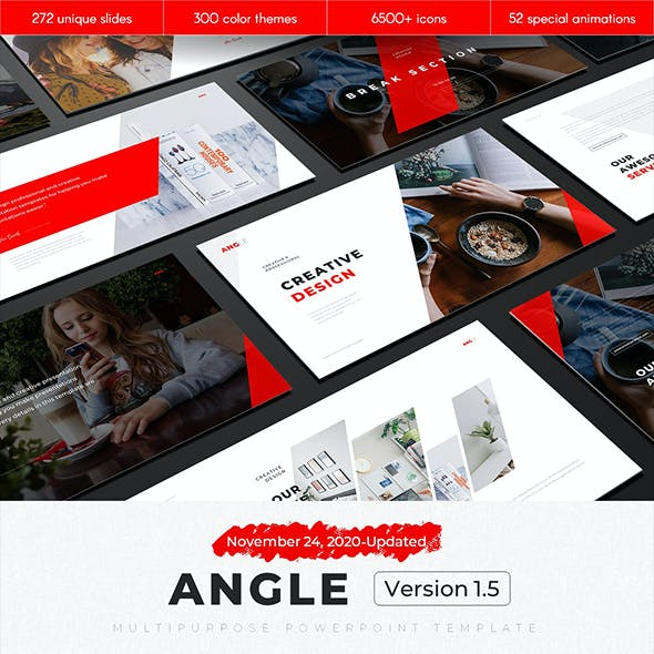 Angle Multipurpose PowerPoint Template v1.5
