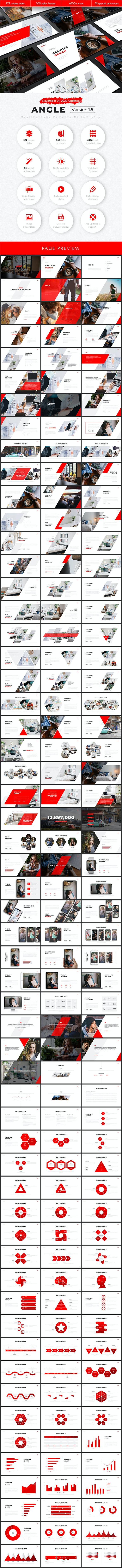 Angle Multipurpose PowerPoint Template v1.5 - Creative PowerPoint Templates