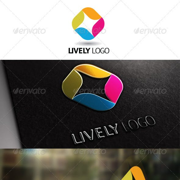 Lively Logo Template