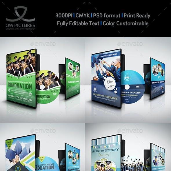 Graduation DVD Template Bundle