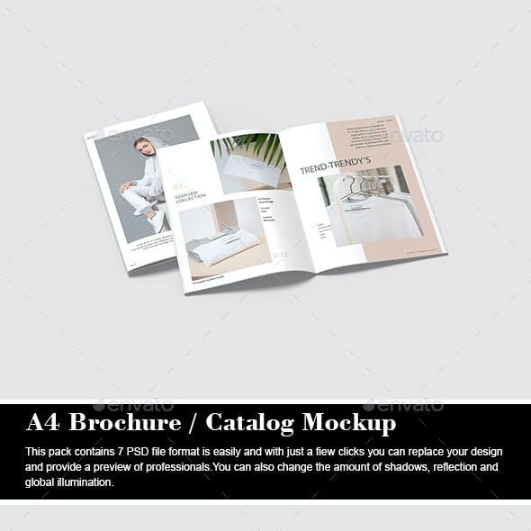 A4 Brochure / Catalog Mockup