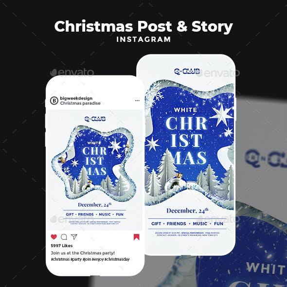 Instagram Christmas Templates