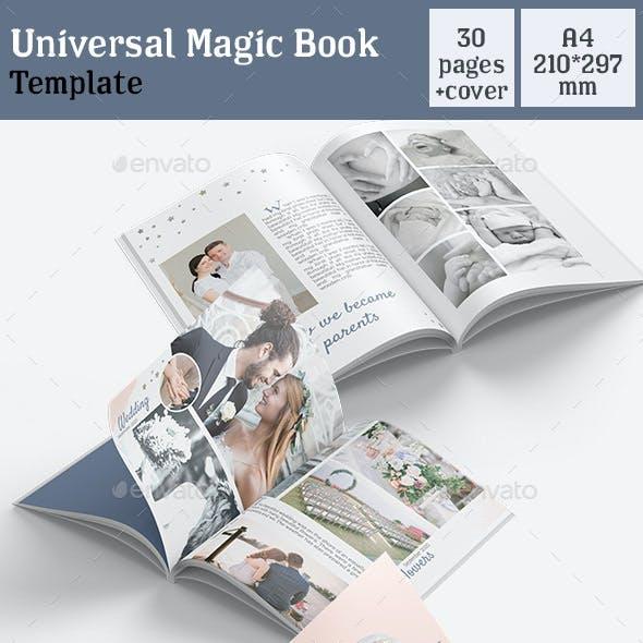 Universal Magic Book Template