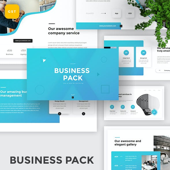 Business Pack - Special Business Google Slides