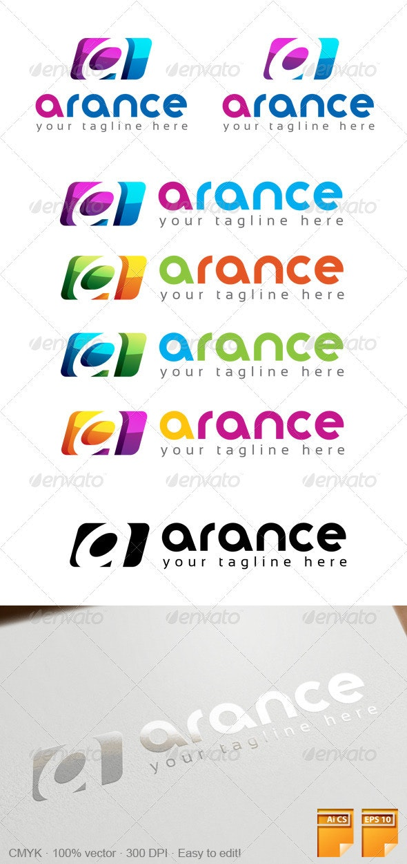 A Letter Logo 101 - Letters Logo Templates