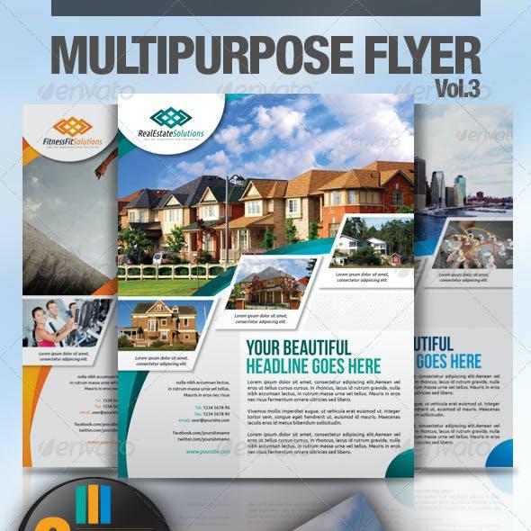 Multipurpose Business Flyer Vol.3