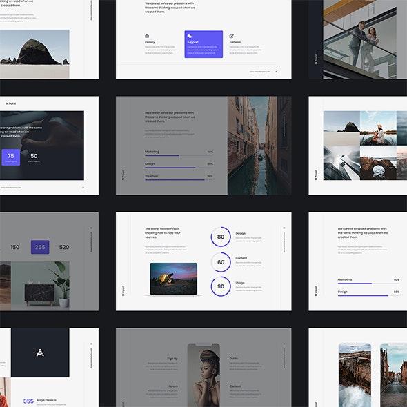 MPoint - Business & Minimal Template (GoogleSlides) - Google Slides Presentation Templates