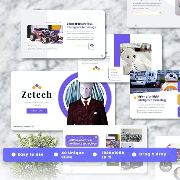 Zetech - Technology Powerpoint Templates