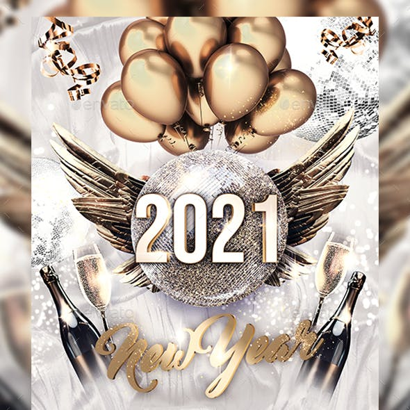 2021 New Year Flyer