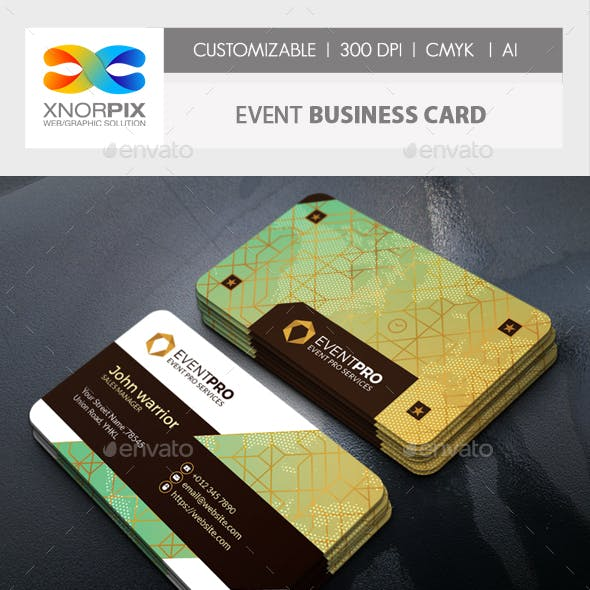Event Business Card