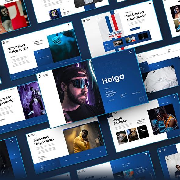 Helga – Business Google Slides Template