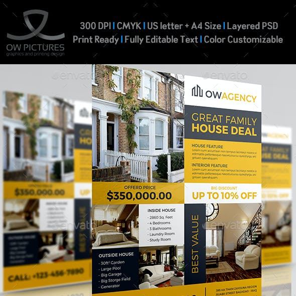 Real Estate Flyer Template Vol.14