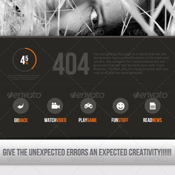 Creative Error Found - V2