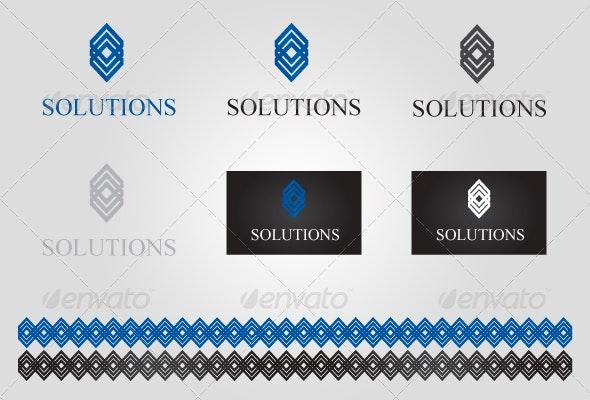Solutions - Symbols Logo Templates