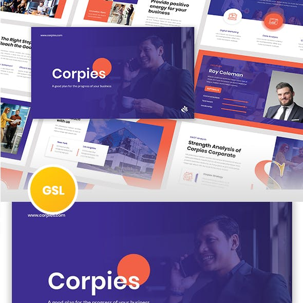 Corpies - Corporate Business Google Slides Template