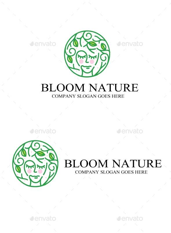 bloom nature logo - Nature Logo Templates