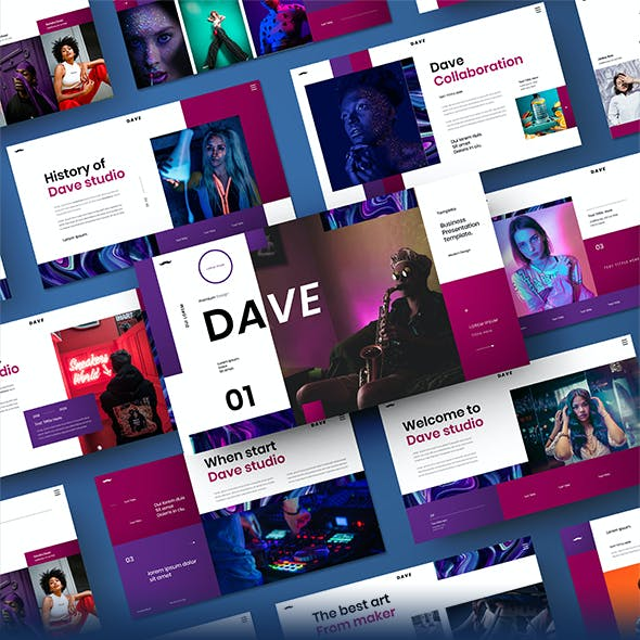 Dave – Business Google Slides Template