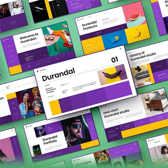 Durandal – Business Google Slides Template