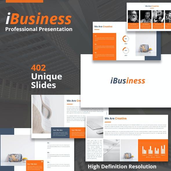 iBusiness Powerpoint Presentation Template