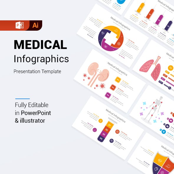 Medical Infographics PowerPoint Template