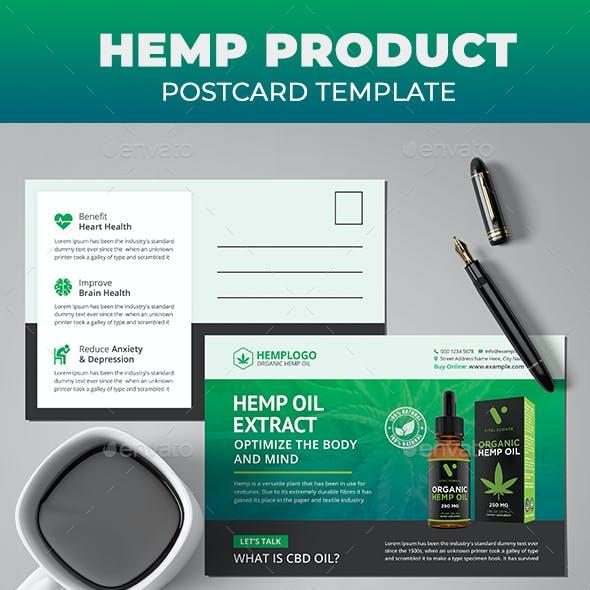 Hemp Product Postcard
