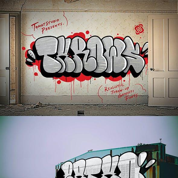 Graffiti Fonts | Throws