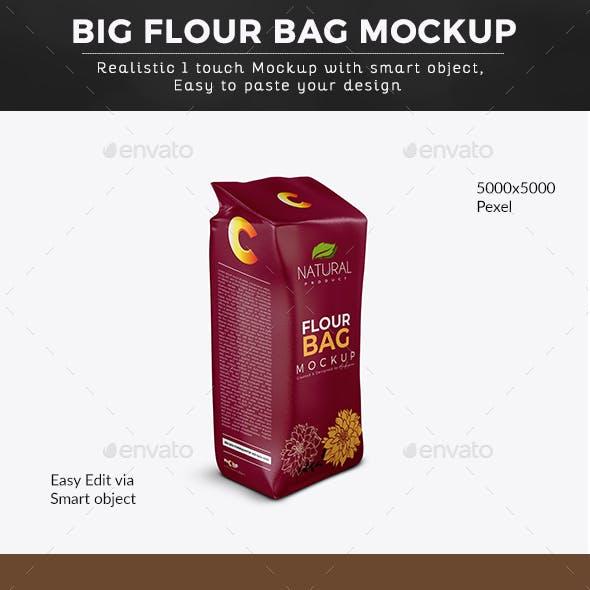 Big Flour Bag Mockup