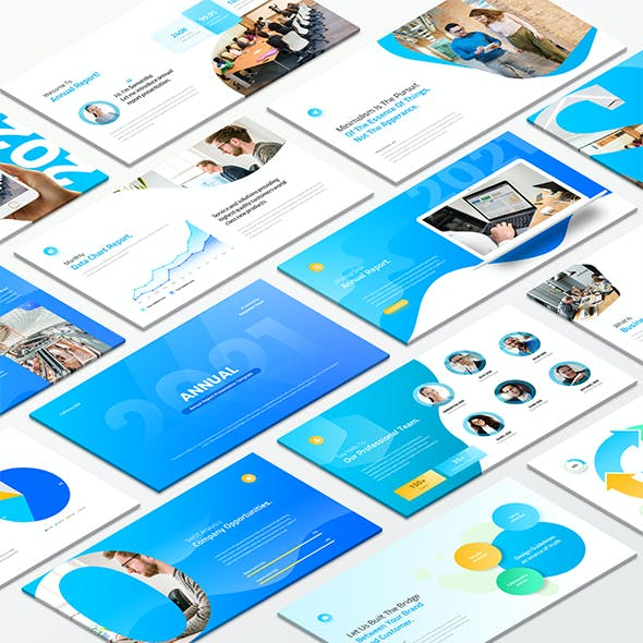 Annual Report Google Slides Template
