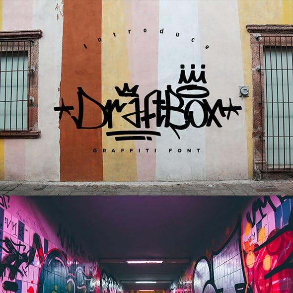Draft Box - Graffiti Font