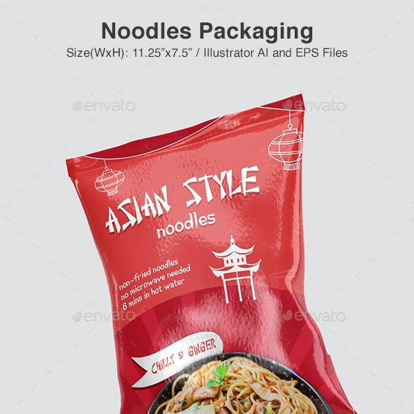 Asian Noodles Packaging