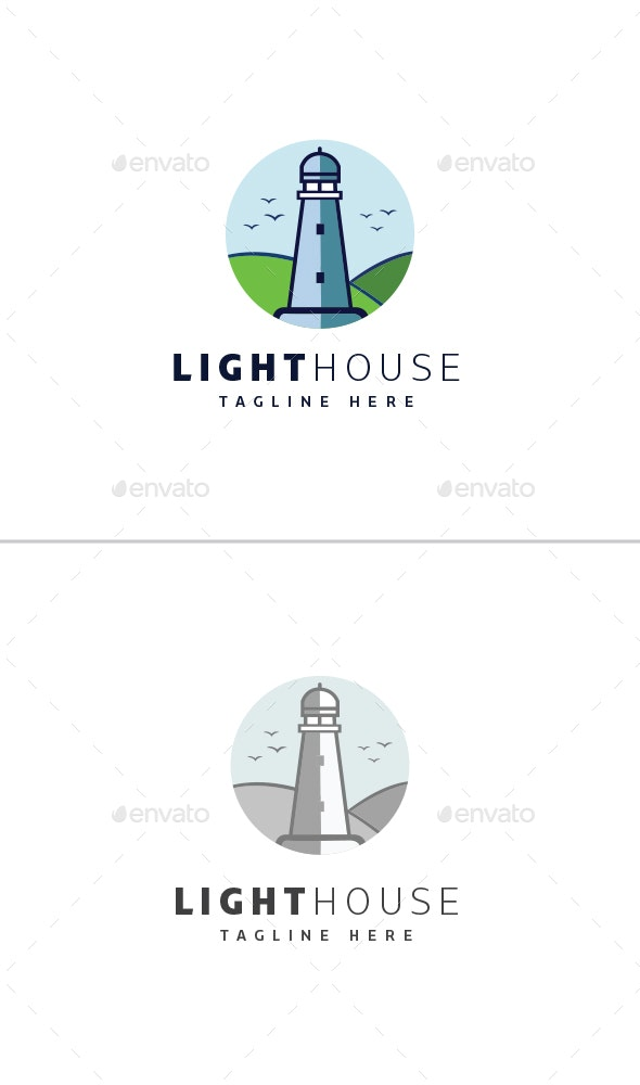 Light House Logo - Objects Logo Templates