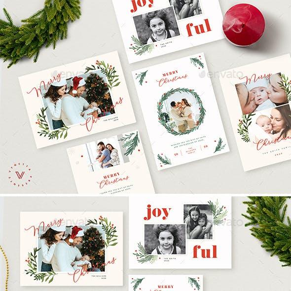 Christmas Photo Card / Holiday Card