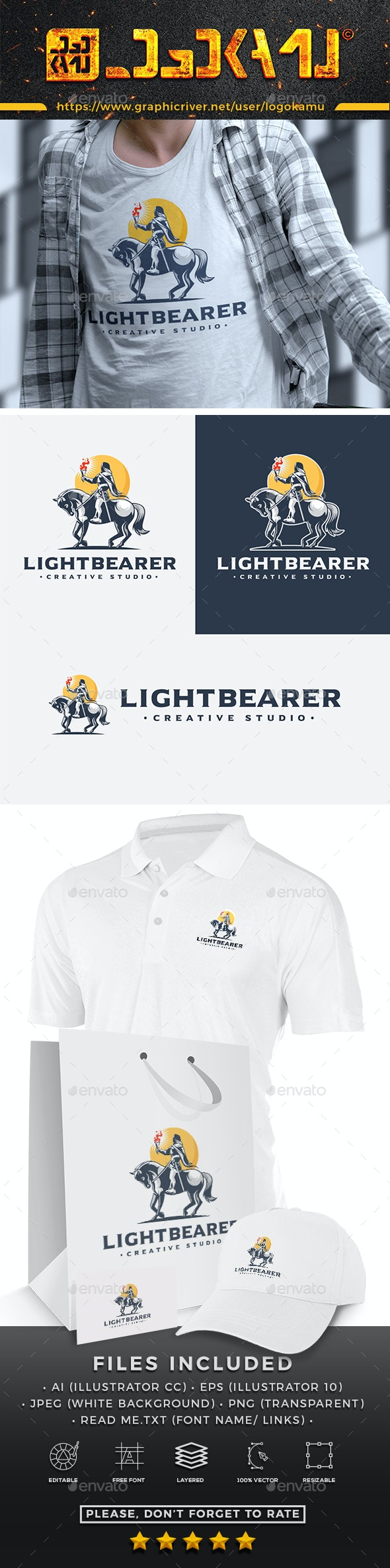 Light Bearer Logo - Humans Logo Templates