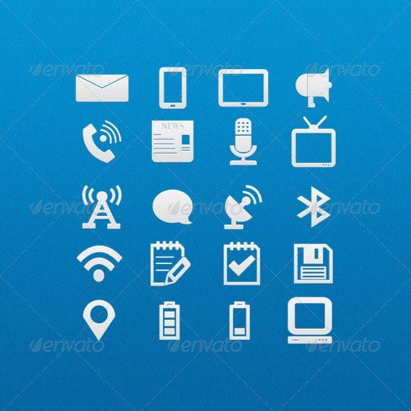 Light Icon Set 2 - Web Icons