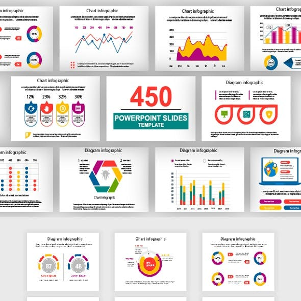 Infographics Multipurpose PowerPoint Template