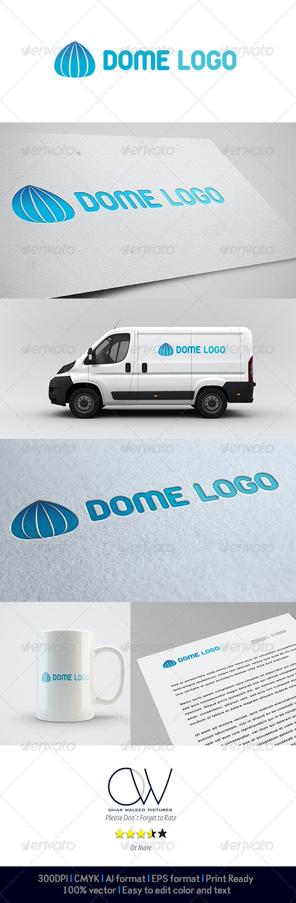 Dome Logo - Abstract Logo Templates