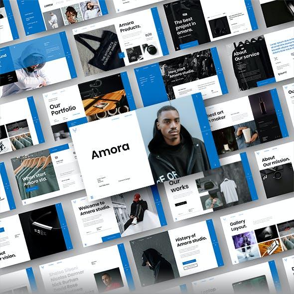Amora – Business Google Slides Template