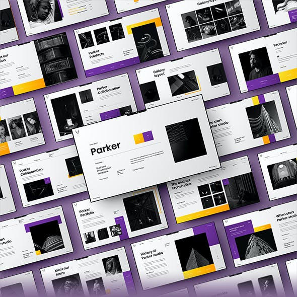 Parker – Business PowerPoint Template
