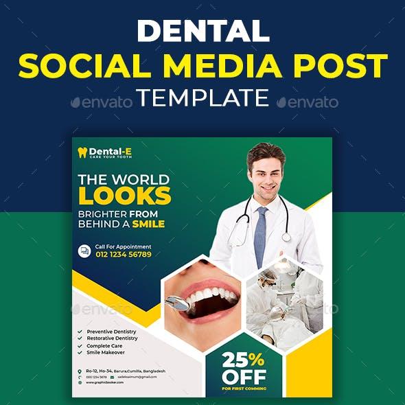 Dental Social Media Post Template