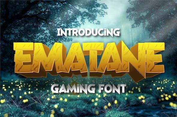 Ematane - Sans-Serif Fonts