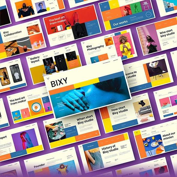 Bixy – Business Google Slides Template