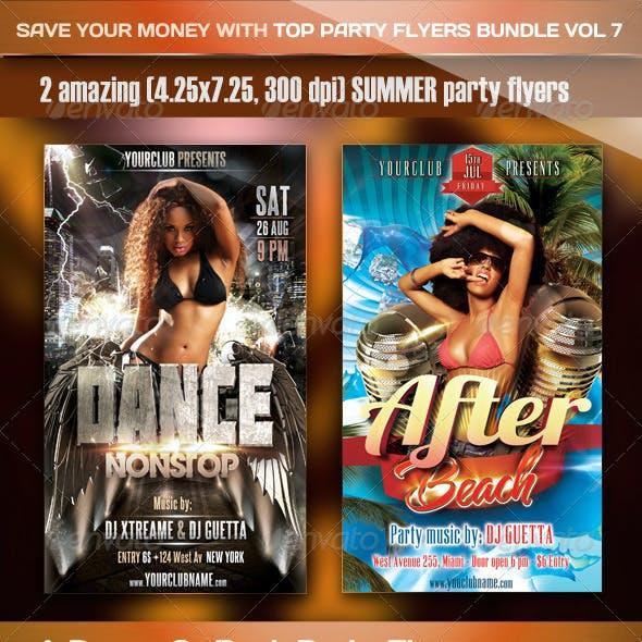 Top Party Flyer Bundle Vol7