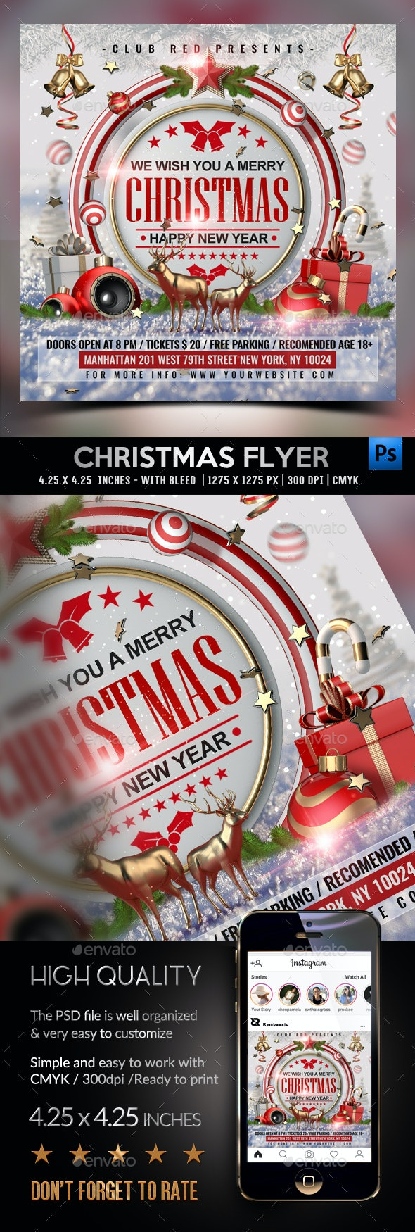 8 Best Flyer Templates  for December 2020