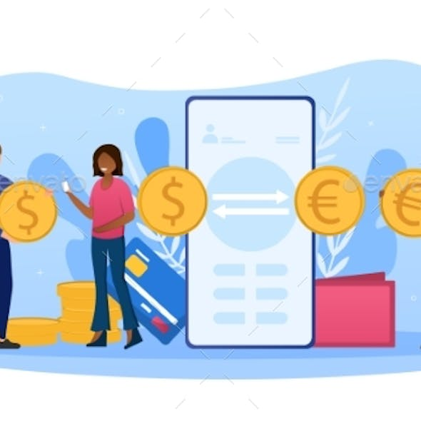 Concept of Currency Exchange